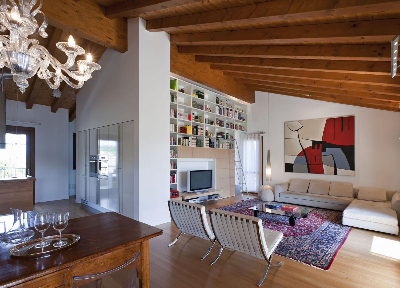 Interior Design - Attico a Pordenone - Graphosds